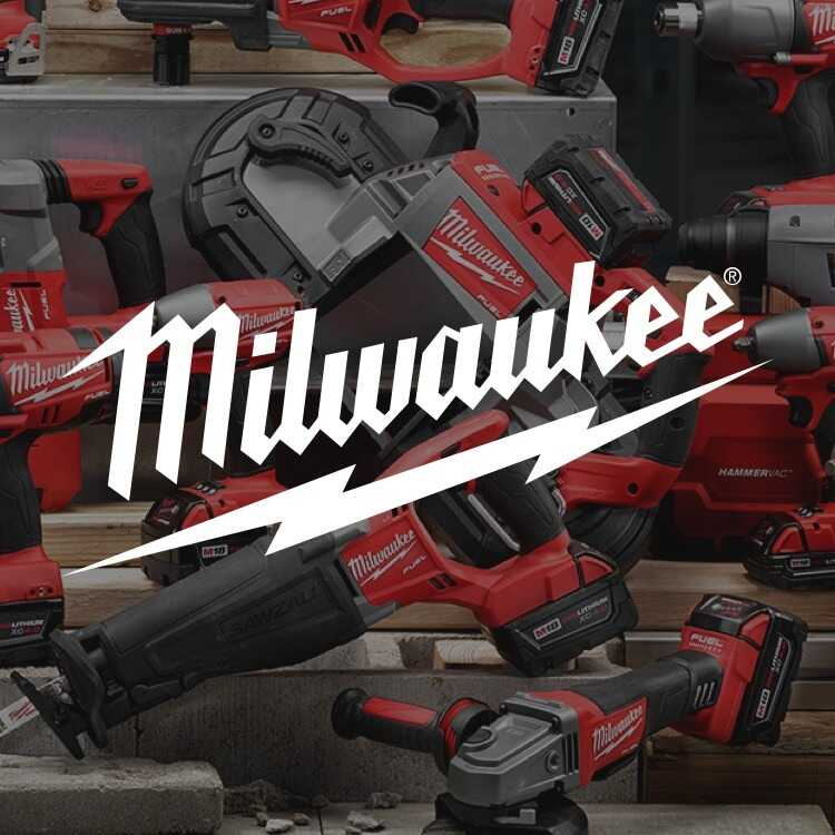 Milwaukee power tools at City Lumber