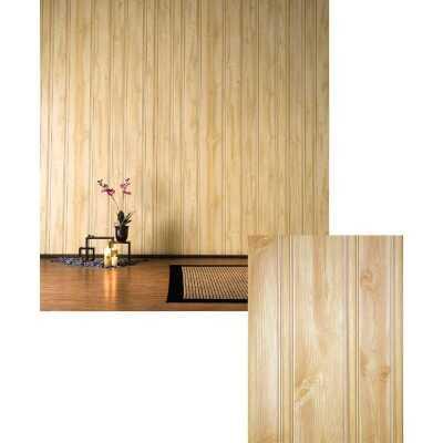 DPI 4 Ft. x 8 Ft. x 3/16 In. Honey Pine Woodgrain Wall Paneling