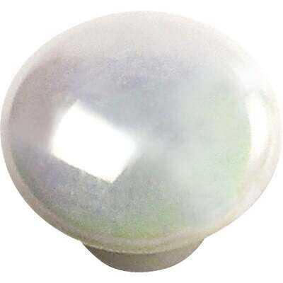 Laurey 1-1/4 In. Opal Round Porcelain Knob