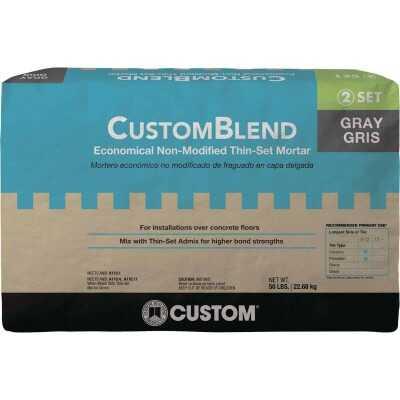 Custom-Blend 50 Lb. Gray Mortar Mix