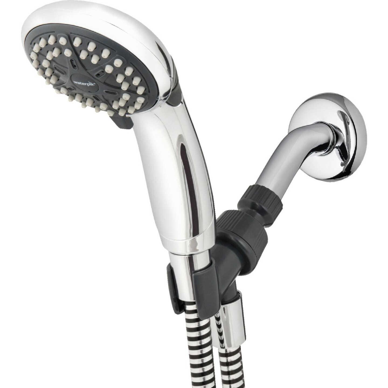 Waterpik EcoFlow 3-Spray 1.6 GPM Handheld Shower, Chrome Image 1