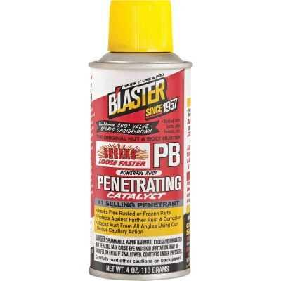 Blaster 4 Oz. Aerosol PB Penetrating Catalyst Penetrant