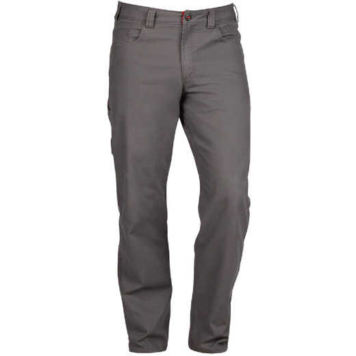 Milwaukee Flex Gray 34 x 34 Heavy-Duty Work Pants