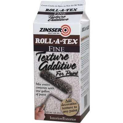 Zinsser Roll-A-Tex Fine Texture Paint Additive, 1 Lb.